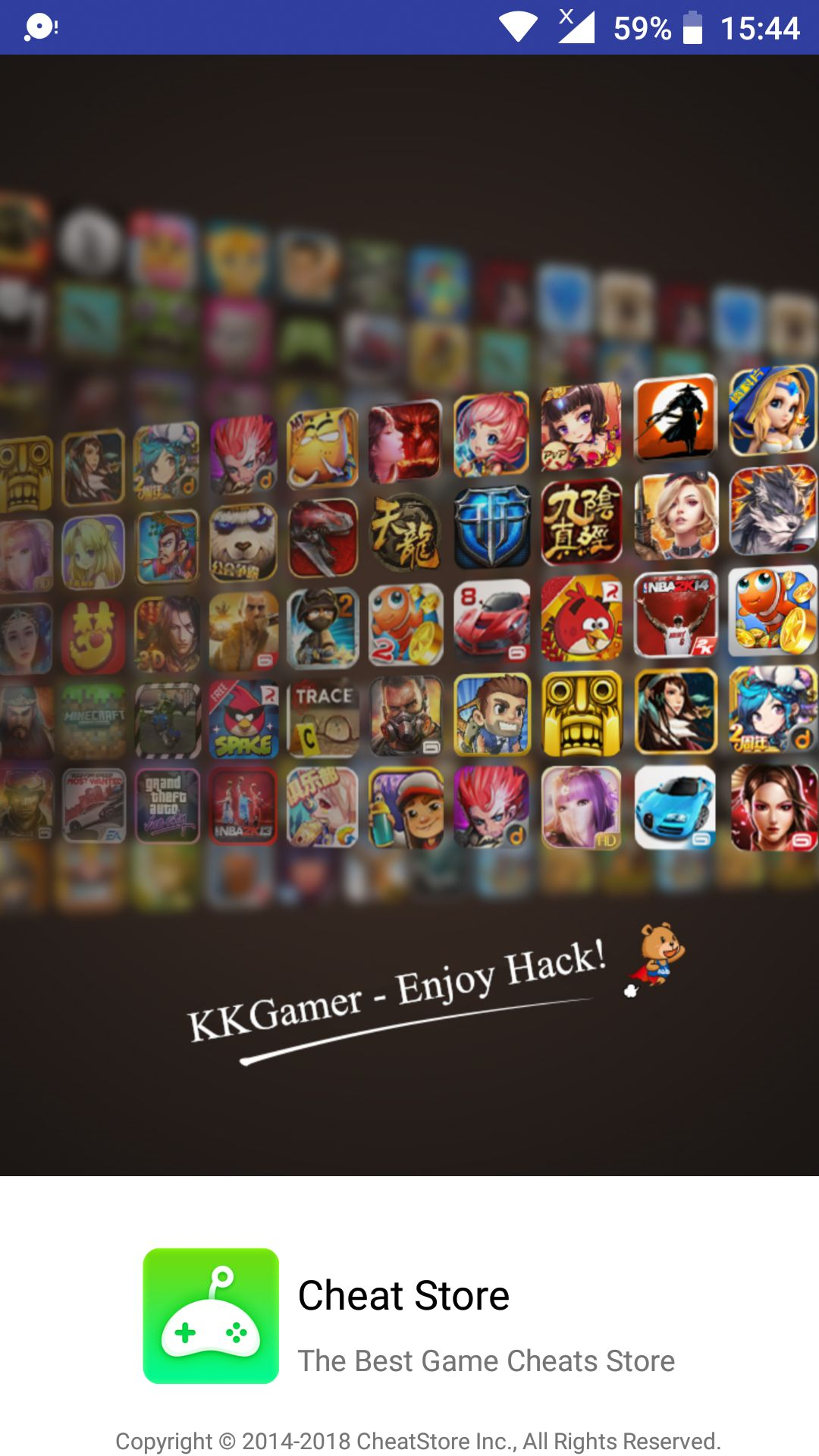 KKGamer (Cheat Store) APK Download (Latest Version) for Android